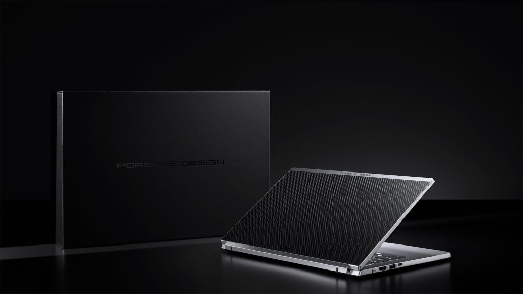 laptop de Porsche