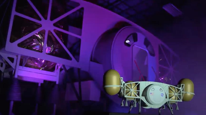 Revelan diseño de módulo de aterrizaje para la misión Artemis a la Luna en 2024