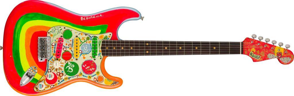 La icónica guitarra de George Harrison regresa gracias a Fender
