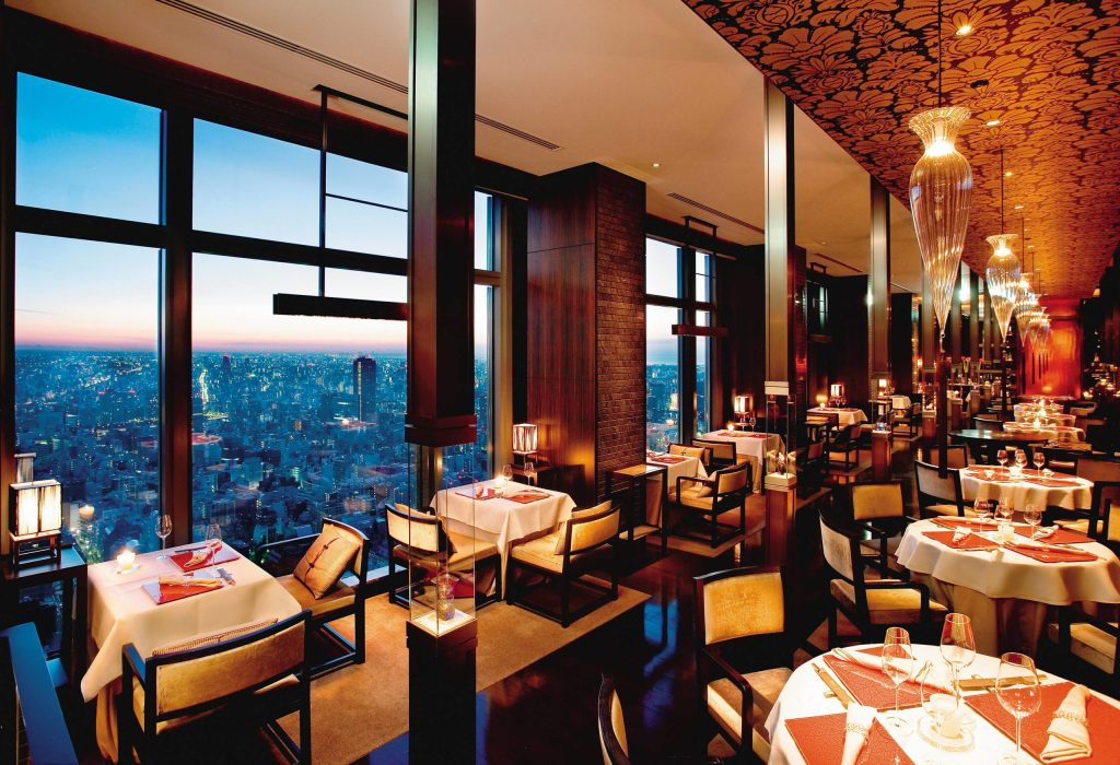 Por sus vistas y gastronomía, el Mandarin Oriental, Tokyo califica como 5 estrellas de altura