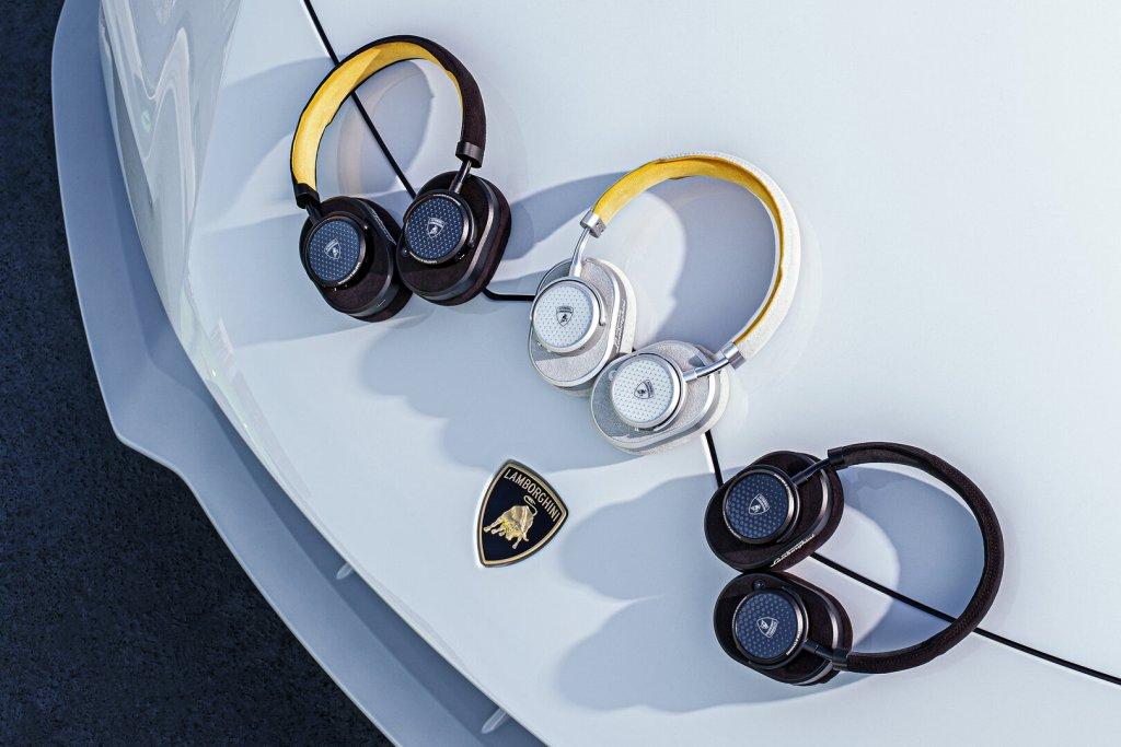 La nueva colección de audífonos de Lamborghini es música para nuestros oídos