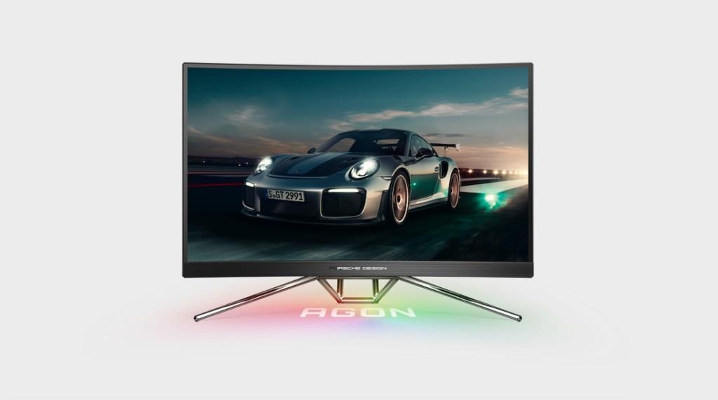 monitor de Porsche