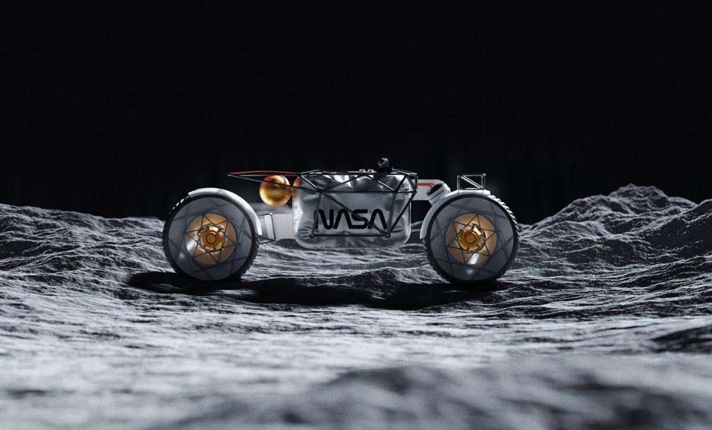 NASA presenta un concepto de moto eléctrica y bicicleta para 'recorrer' la luna