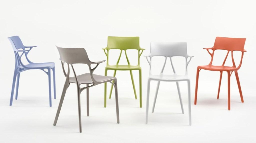 Revelan novedosa silla de Philippe Starck diseñada con inteligencia artificial