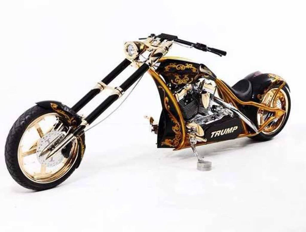 Conoce las creaciones de Orange County Choppers, fabricantes de la moto de oro de Donald Trump