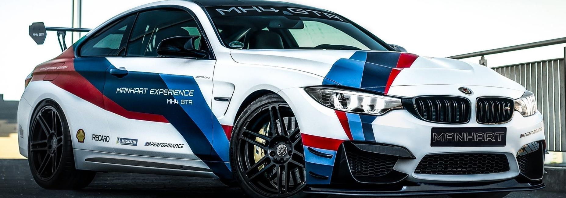 Manhart presenta un BMW M4 mucho más poderoso y exclusivo