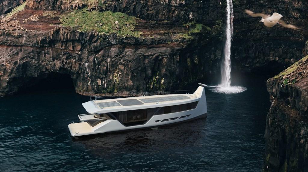 Conoce el yate inteligente Drakkar S, un concepto marino con inspiración vikinga