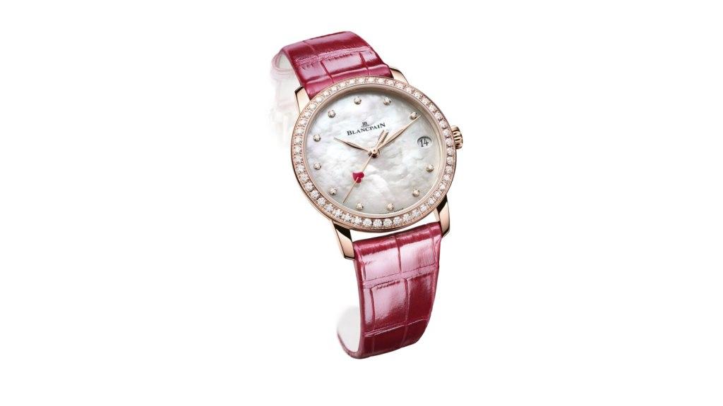 Un reloj Blancpain edición especial para declarar tu amor eterno