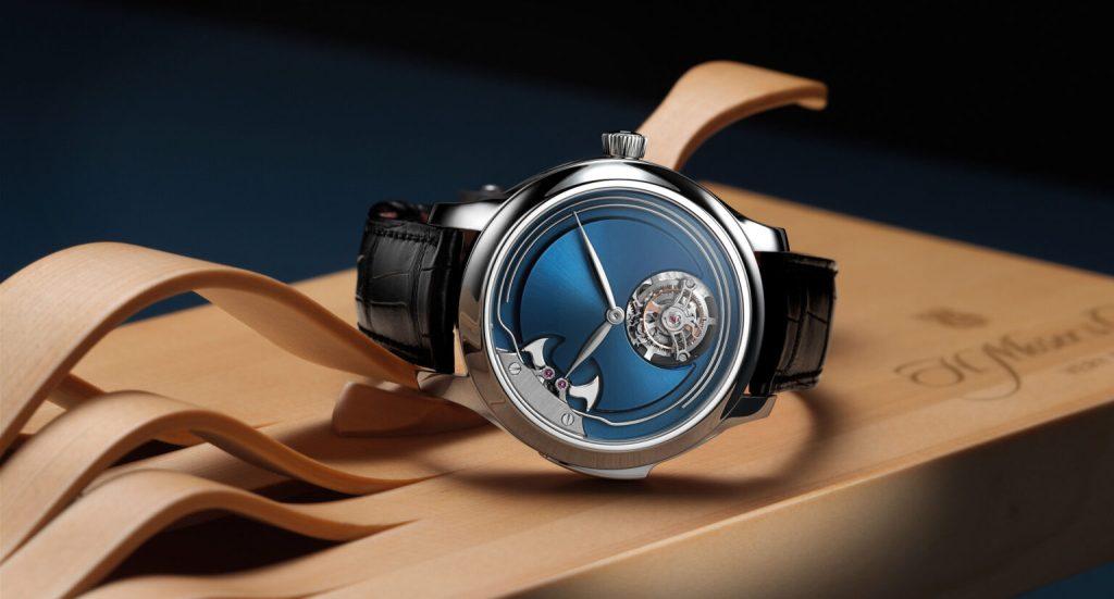 Sencillo y elegante, el nuevo reloj de H. Moser & Cie no tiene marcadores de hora, mira cómo funciona