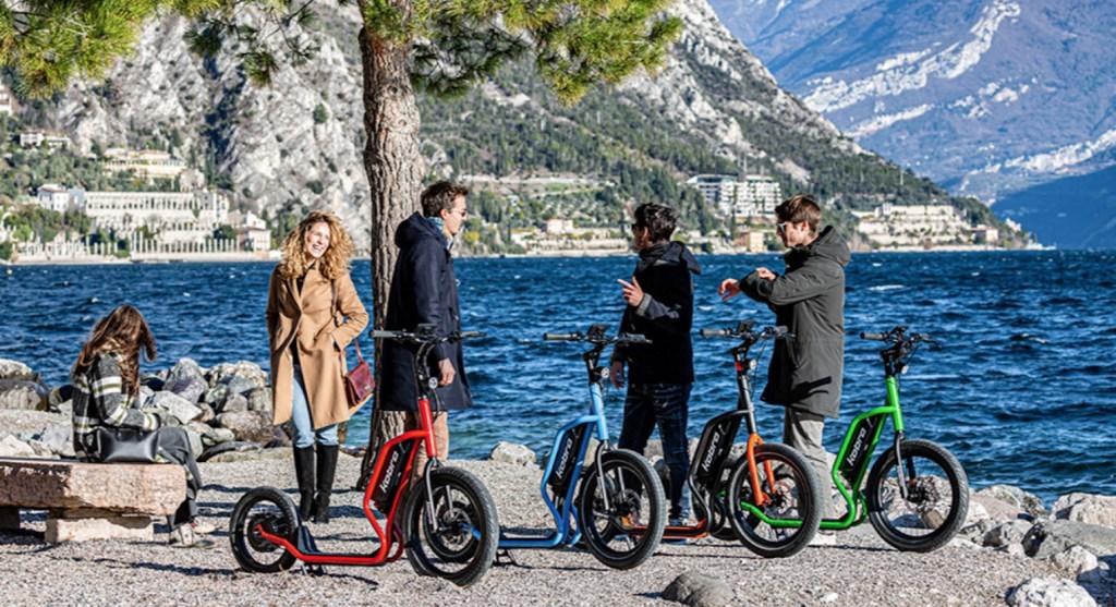 Ni moto, ni bicleta: éste es Kobra, el scooter eléctrico italiano para diversión todo terreno