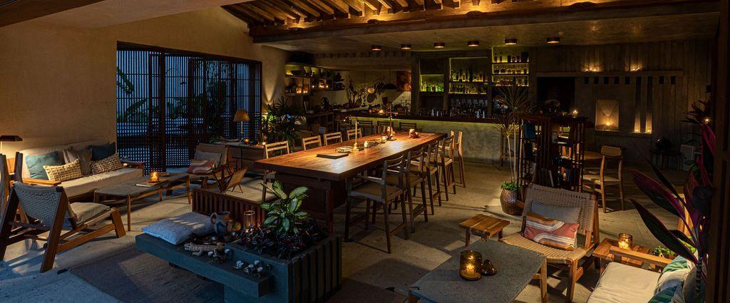 Zapote Bar, en Rosewood Mayakoba, es una carta de amor a Yucatán