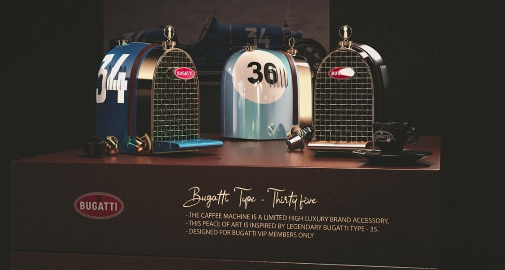 Cafetera Bugatti