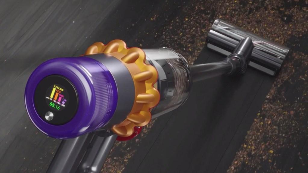 Para fanáticos de la limpeza, la nueva aspiradora de Dyson detecta el polvo con un láser