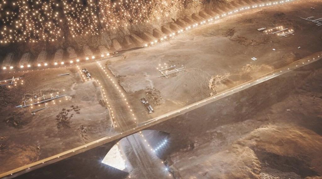 primera ciudad en Marte