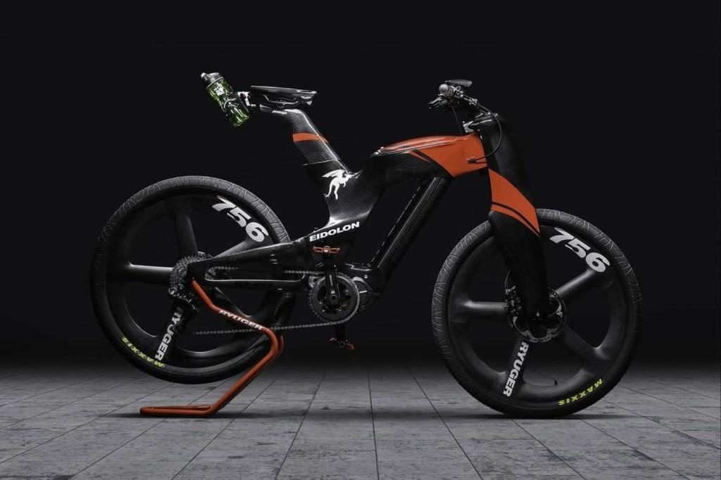 La bicicleta eléctrica de Ryuger es tan imponente y aerodinámica que parece de carreras