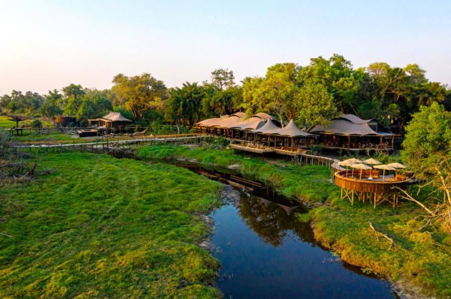 Tu próxima aventura en África será sustentable y de lujo en el Xigera Safari Lodge