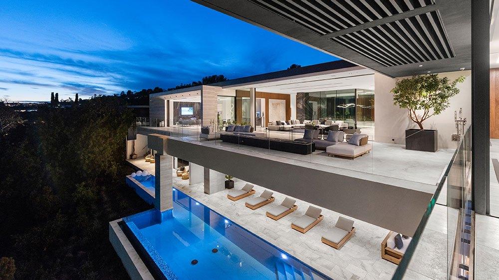 La mansión Wallace Ridge en Beverly Hills podría ser tuya si tienes mil bitcoins