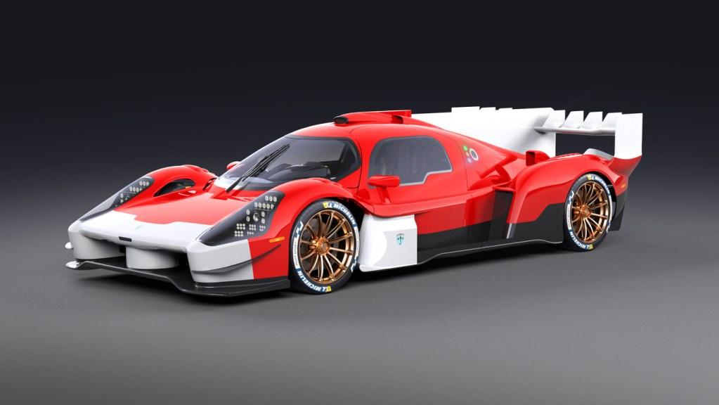 El Glickenhaus 007S parece un auto de carreras, pero es apto para usarse en la calle