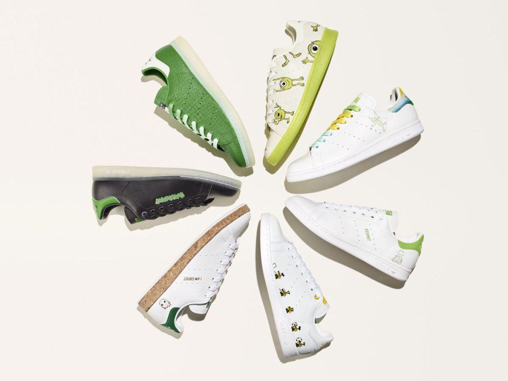 Adidas lanza nuevas Stan Smith en colaboración con Disney ¡cero huella de carbono!