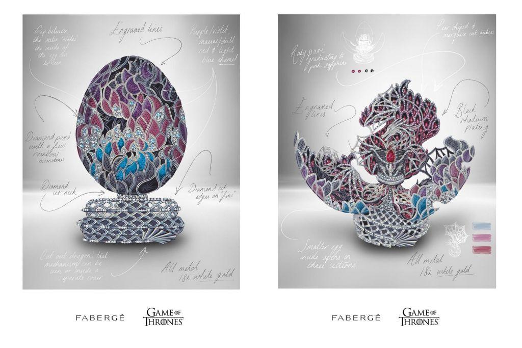 Fanáticos de Game of Thrones, Fabergé ha lanzado un hermoso huevo de dragón de 45 millones de pesos