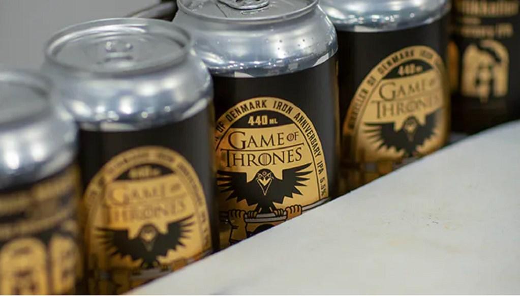 El décimo aniversario de Game of Thrones se celebra con esta cerveza inspirada en la serie