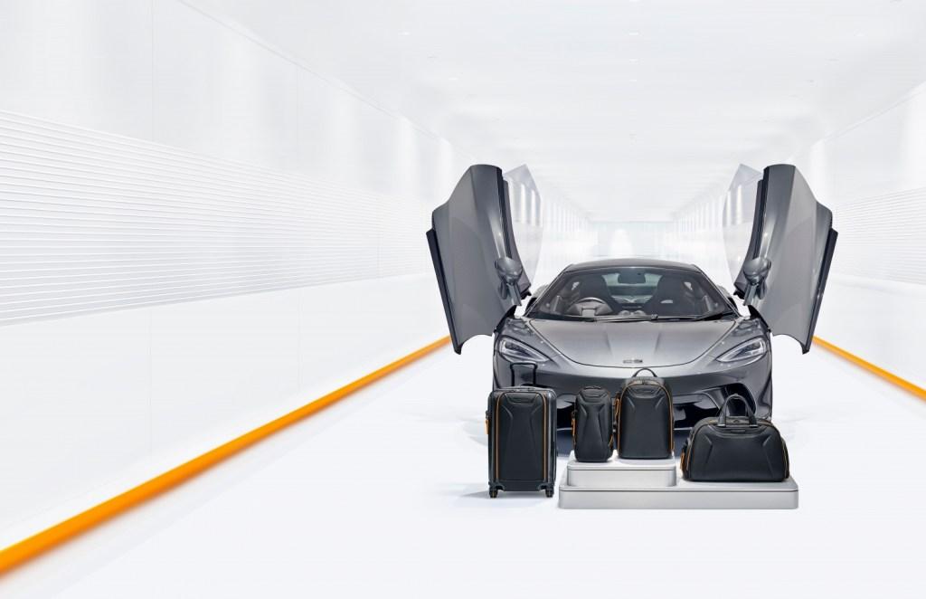 No importa si te quedaste en casa, vas a querer esta colección de equipaje de McLaren y Tumi