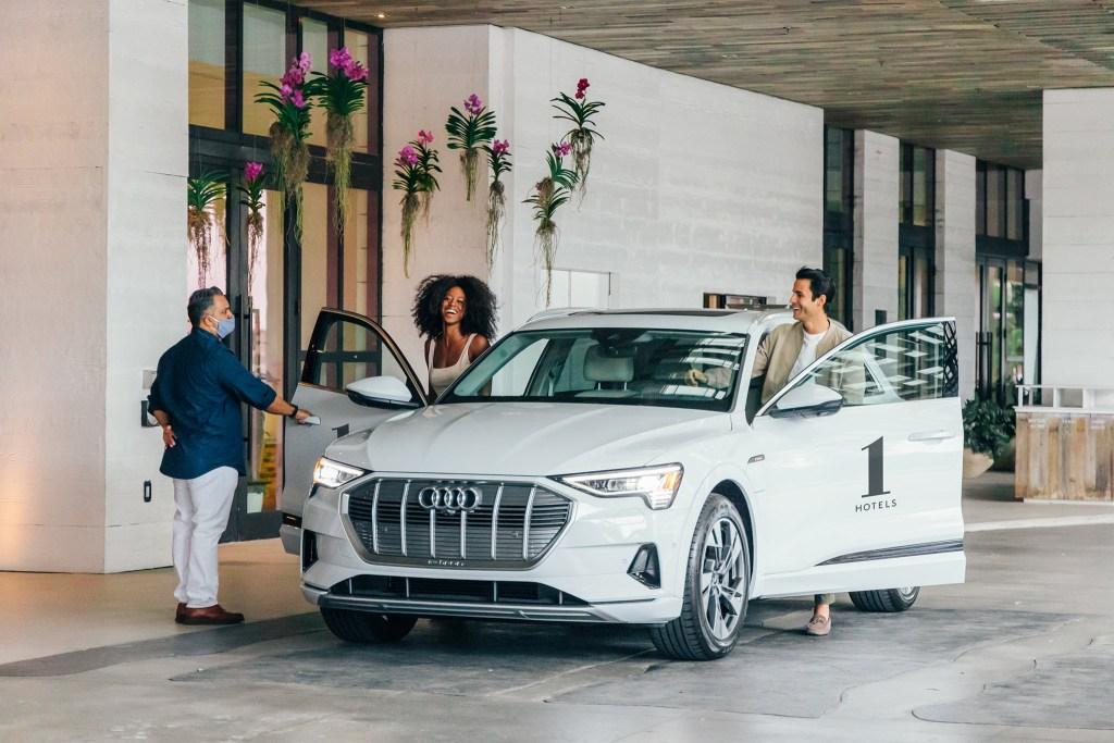 1 Hotels y Audi of America unen fuerzas por la sostenibilidad