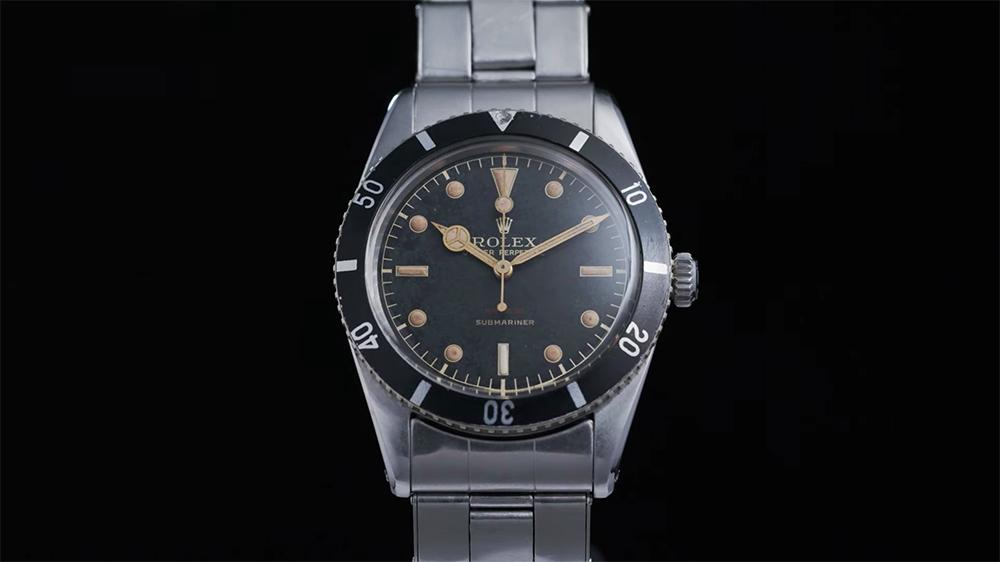 Uno de los primeros Rolex Submariner será subastado y hasta James Bond lo quiere comprar