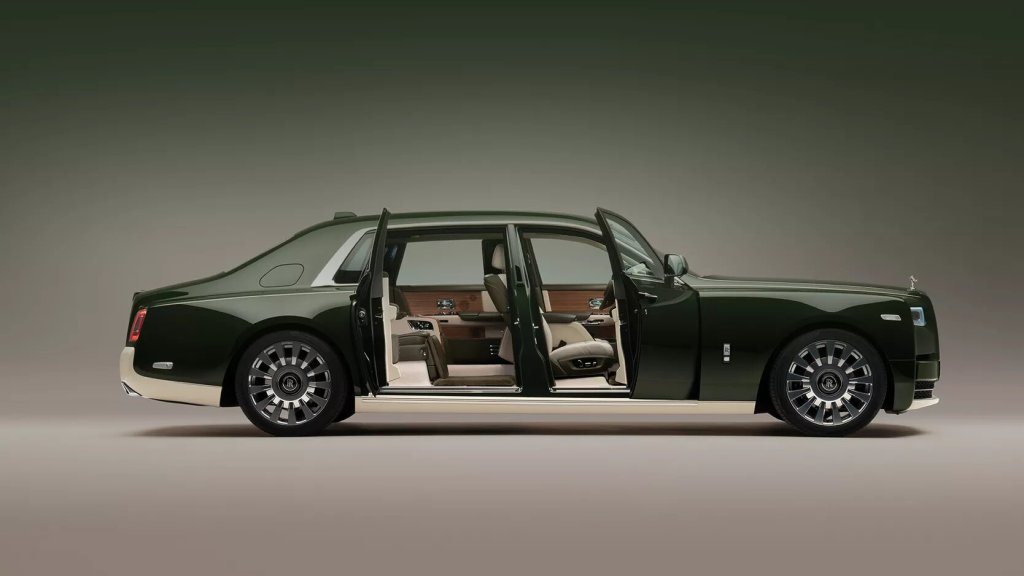 Rolls-Royce y Hermès han creado el Phantom Oribe y decir que es lujoso sinceramente es poco