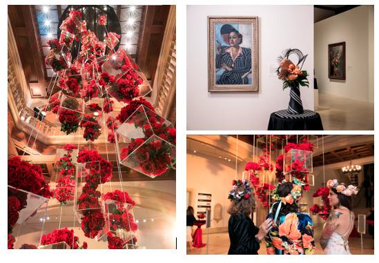 La exposición anual de Art Alive en el Museo de Arte de San Diego estará lleno de flores