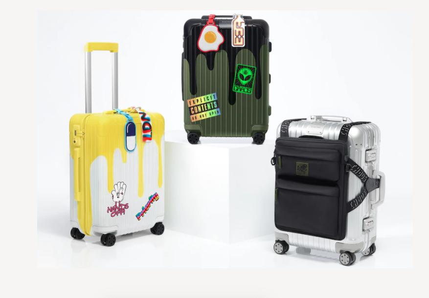 Viajar será un pretexto para estrenar esta colección de Rimowa x Chaos