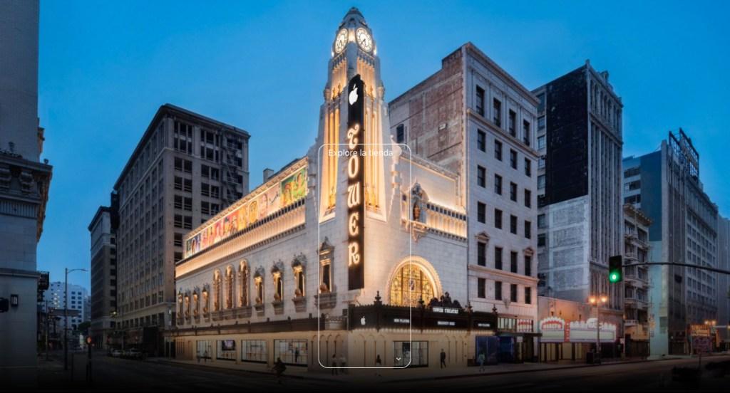 Conoce la nueva Apple Tower Theatre, quizá la tienda más bella de la marca en el mundo