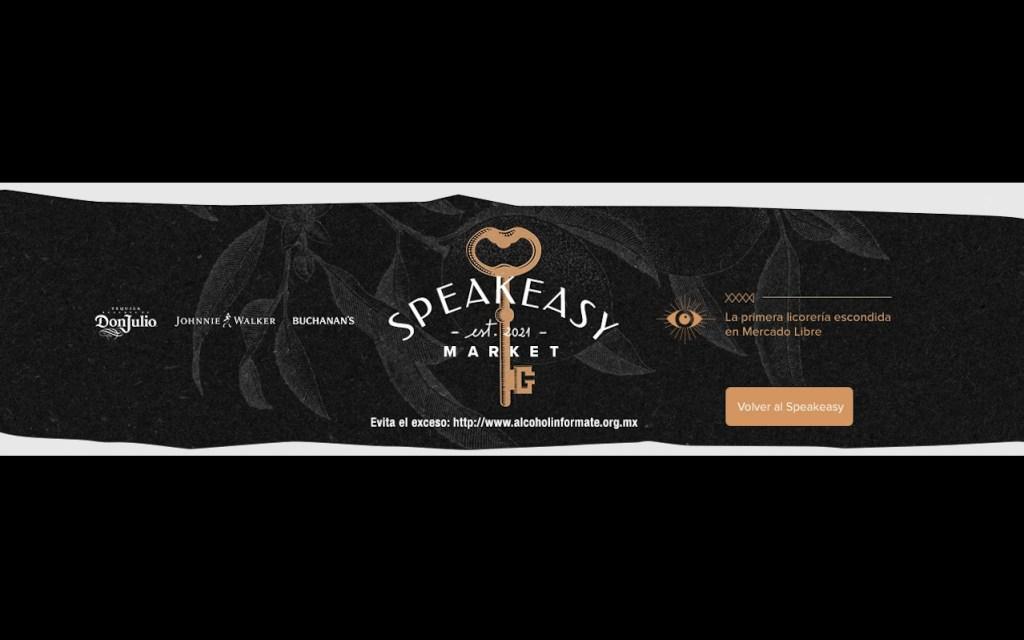 Diageo abre el primer speakeasy virtual dentro del marketplace de Mercado Libre