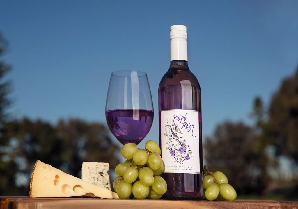 Te presentamos Purple Reign, el primer vino morado en el mundo, hecho en Australia
