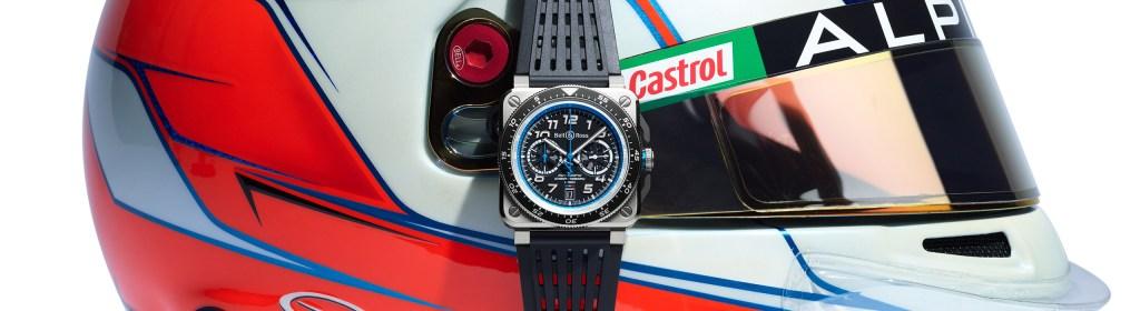 El primer año de Alpine F1 solo se podía celebrar con una colección de relojes de Bell & Ross