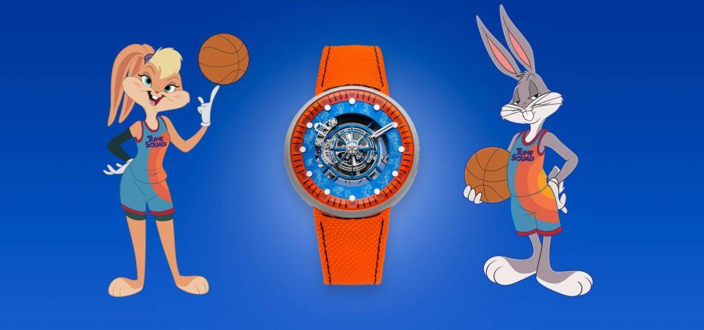No sabemos si la película, pero este reloj de Space Jam seguro te va a gustar
