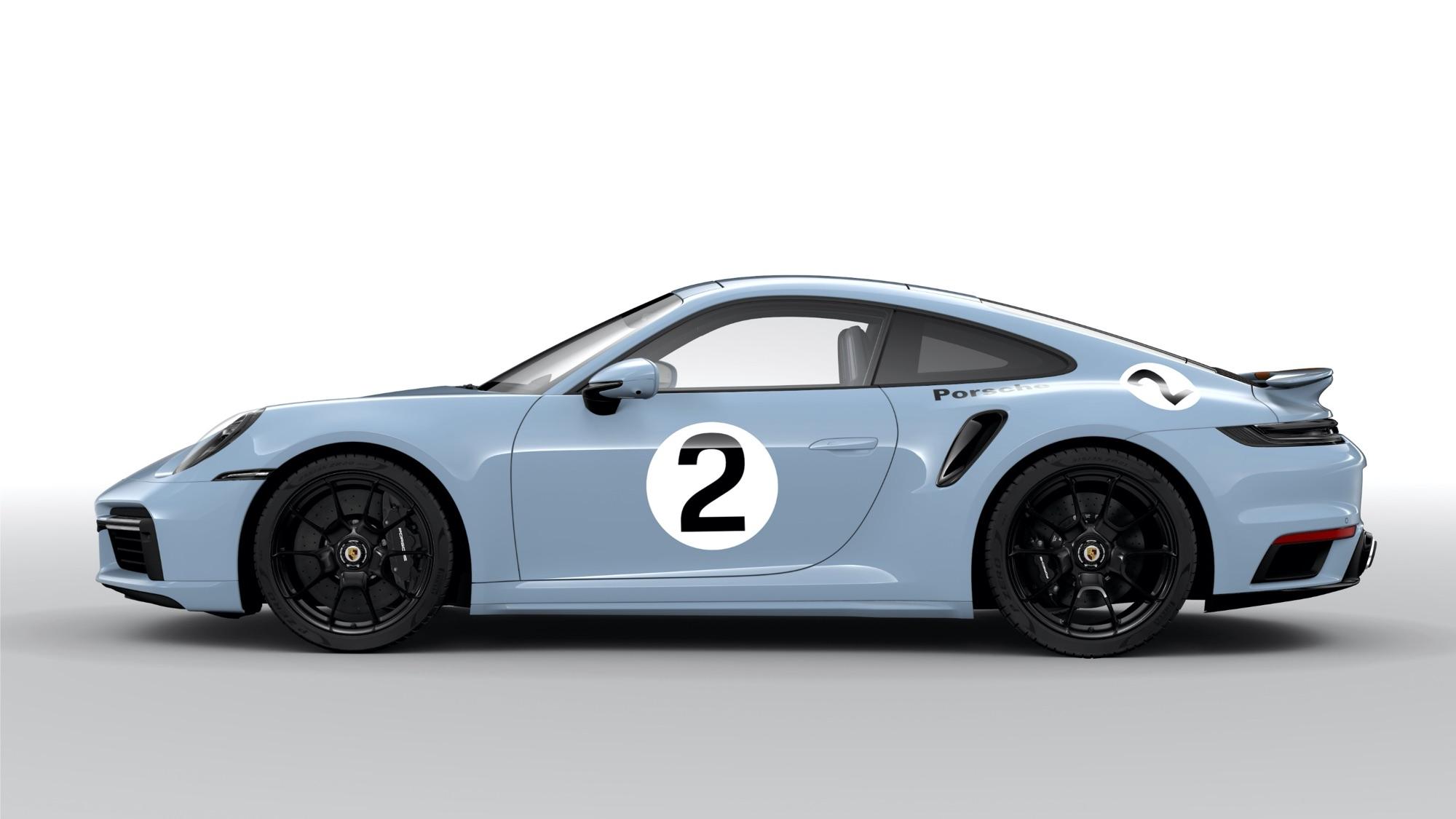 Pasado y futuro convergen en esta versión inigualable y exclusiva del Porsche 911 Turbo S