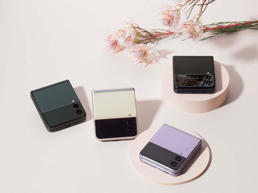 smartphones plegables de Samsung