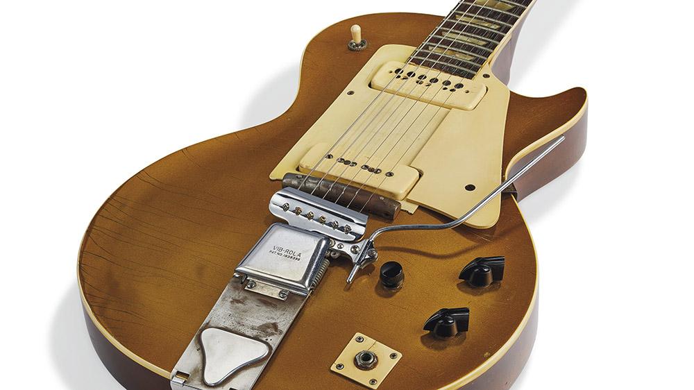 La primera guitarra eléctrica Gibson Les Paul, propiedad del propio Paul, se subastará