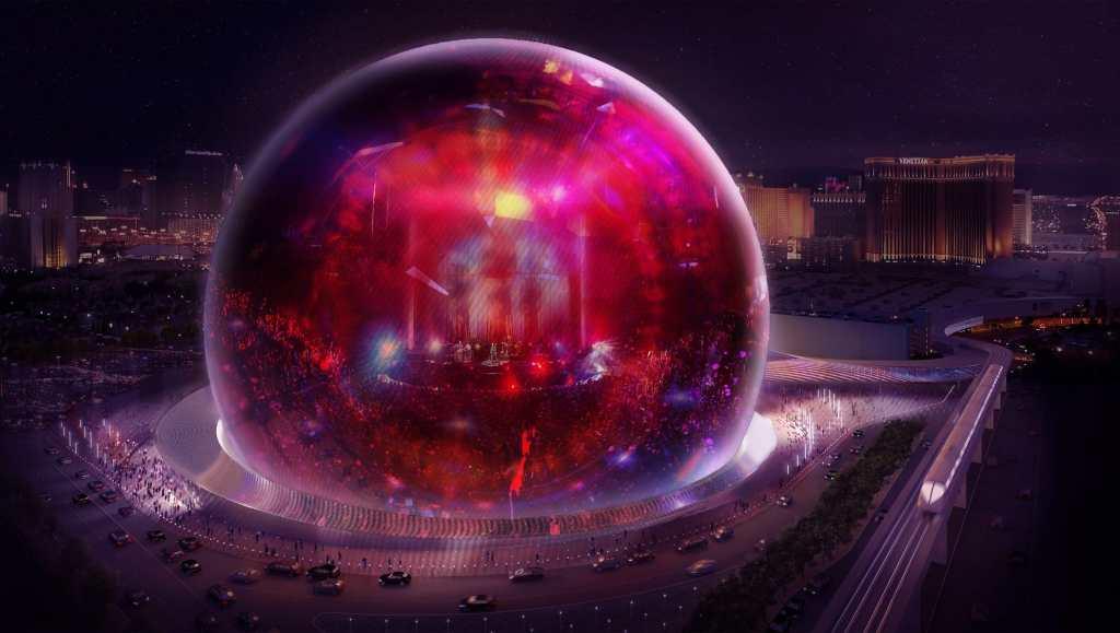 Ni Medio Oriente ni Asia, Las Vegas construye la esfera más grande del mundo: MSG Sphere