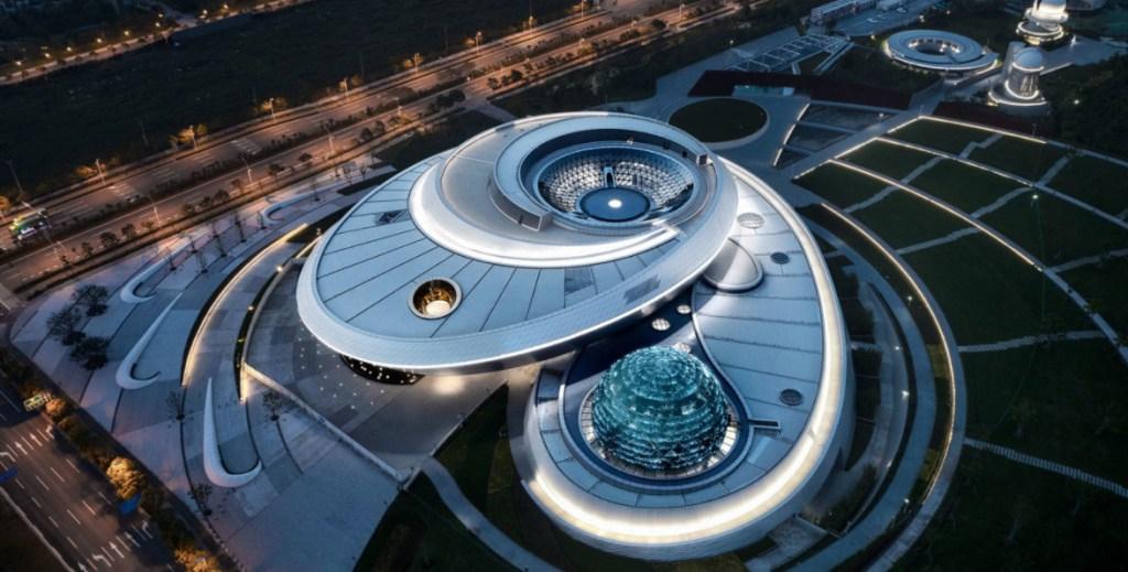 Con 128 mil metros cuadrados, el museo de astronomía más grande del mundo abre sus puertas en Shanghái