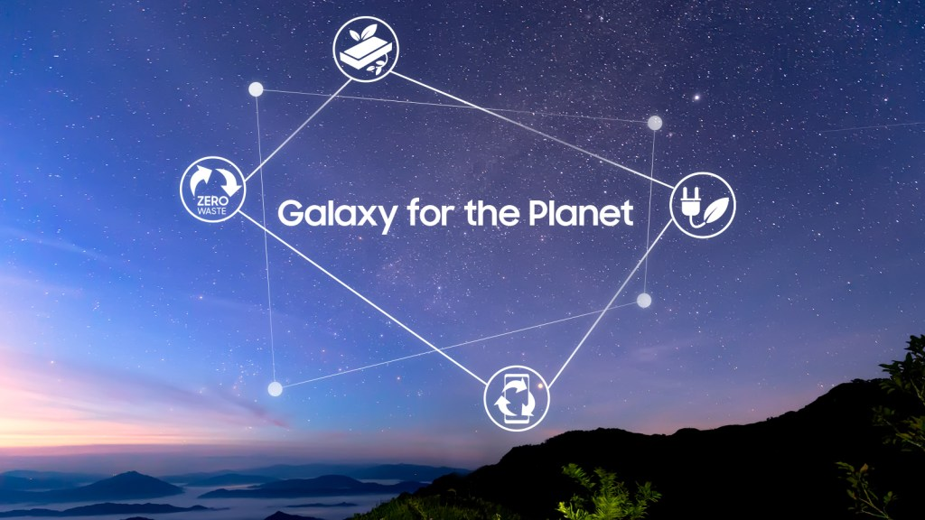 Galaxy for the Planet Samsung