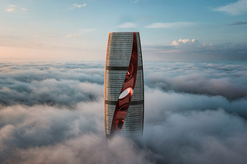 Cytokinesis, el nuevo rascacielos futurista de Qatar se inspira en un organismo vivo