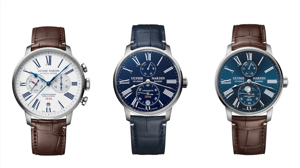 Ulysse Nardin lanza nuevos relojes Marine Torpilleur de edición limitada en Geneva Watch Days