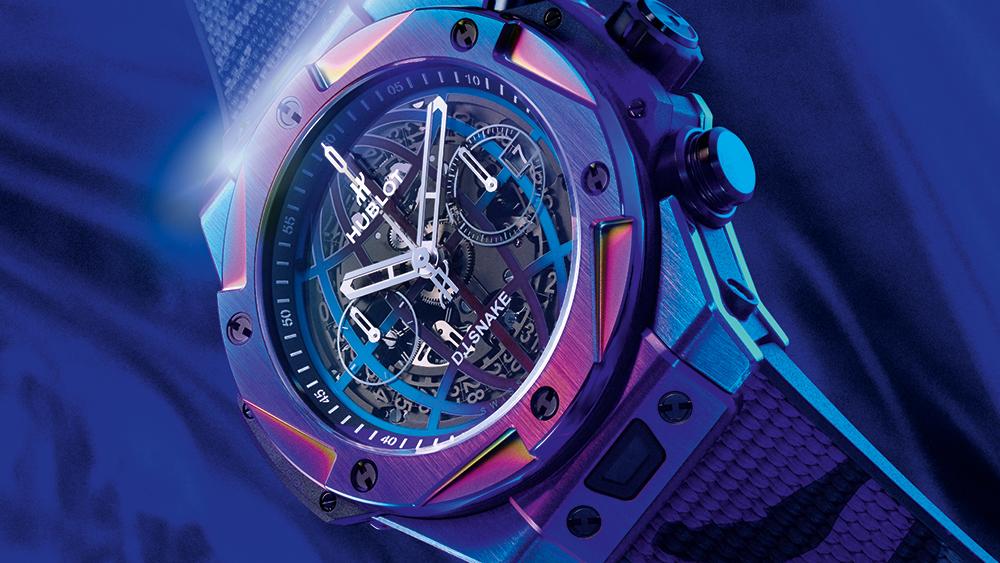 Hublot y DJ Snake se unieron para lanzar un nuevo y colorido reloj Big Bang