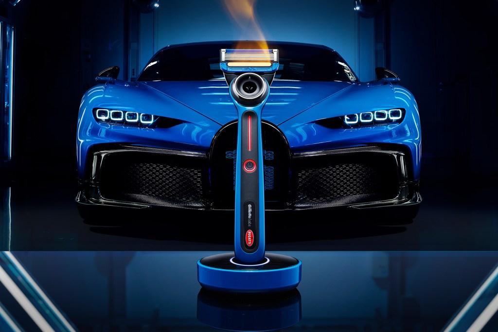 GilletteLabs y Bugatti crean la que podría ser la máquina de afeitar más lujosa del mundo