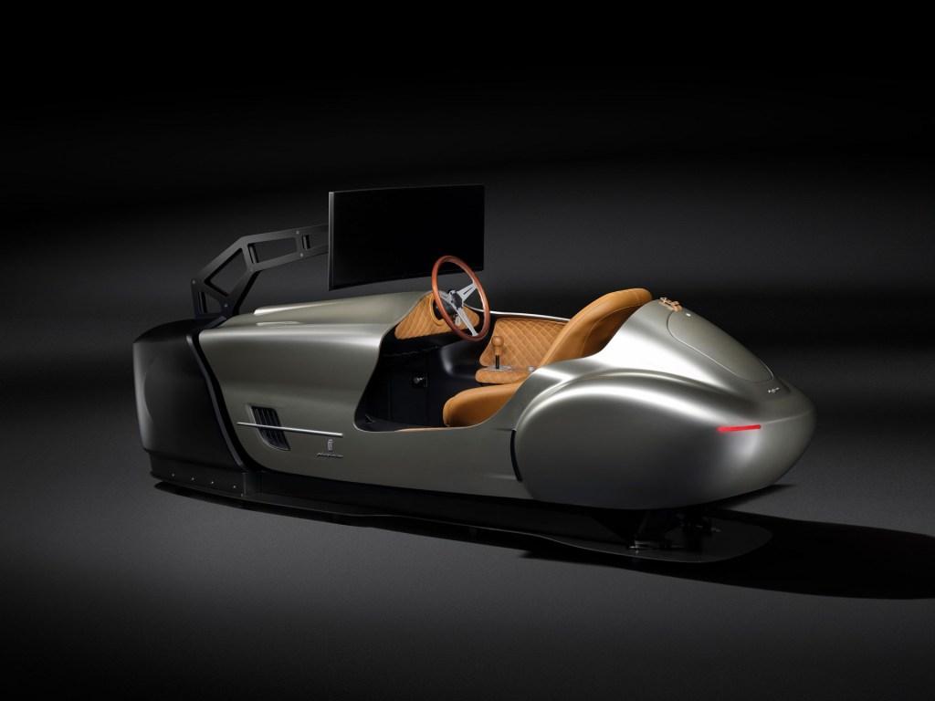 Lleva la emoción de un auto de carreras a casa, con este simulador de Pininfarina