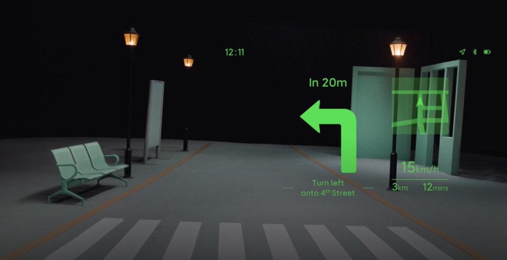 navegación lentes inteligentes