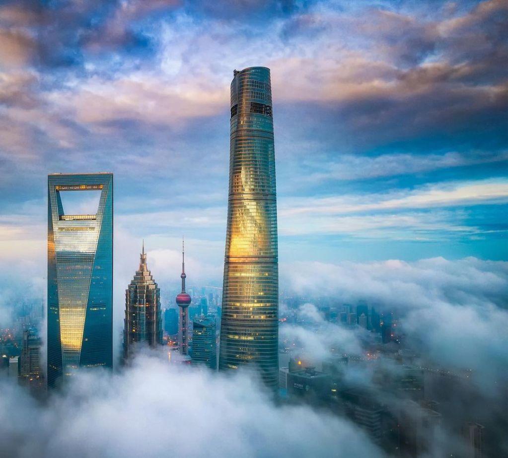 J Hotel Shanghái Tower, el hotel más alto del mundo ubicado en el segundo edificio con mayor altura