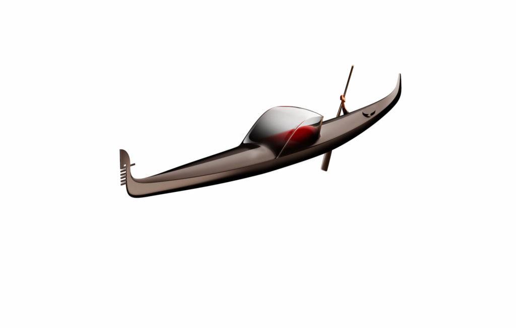 Philippe Starck presenta lo que podría ser el futuro de las góndolas de Venecia